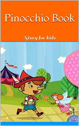 Pinocchio Book: Story for kids -
