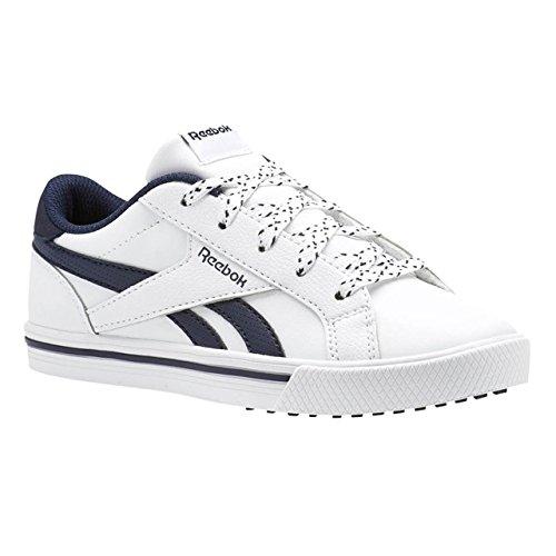 enfants Collegiate COMP nbsp; nbsp;Chaussures sport Blanc 2L nbsp;– Reebok Navy de ROYAL REEBOK White nbsp;– qO8BxTR