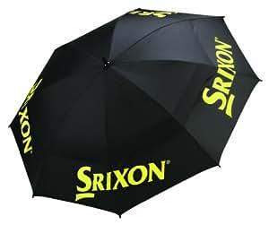 Srixon Tour - Paraguas para hombre, color negro / amarillo