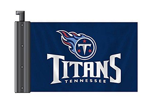 Fremont Die NFL Tennessee Titans Antenna Flag, 3.75