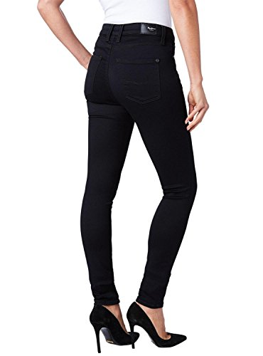 Vaqueros Jeans Mujer Hueso Pepe Negro Regent 5Ovaxwxq