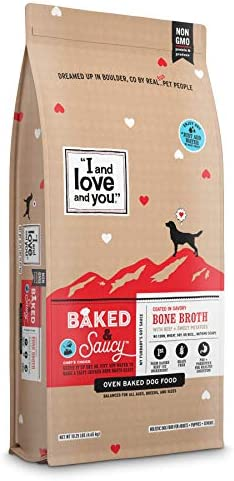 I and love and you Baked Saucy Grain Free Kibble Dry Dog Food