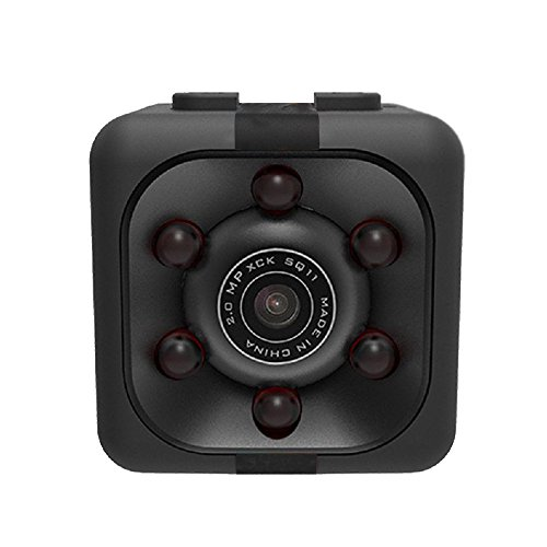 Hidden Camera - Spy Camera - Mini Camera with Night Vision - Full HD Video recording - Motion Detection and Photo - 32 Gb