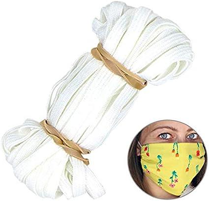 """1//4/"""" Trim Spandex make mask string 10 yards Elastic Band for DIY Mask"""