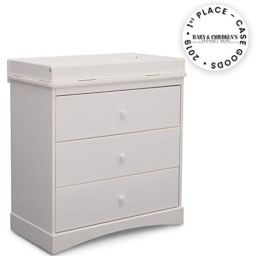 Delta Children Sutton 3 Drawer Dresser with Changing Top
