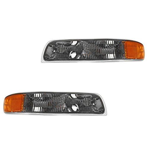 Corner Parking Turn Signal Light Lamp Left & Right Pair Set for Chevy Truck