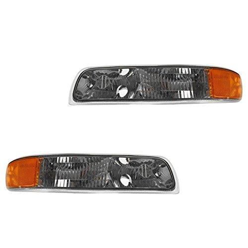 Corner Parking Turn Signal Light Lamp Left & Right Pair Set for Chevy ()