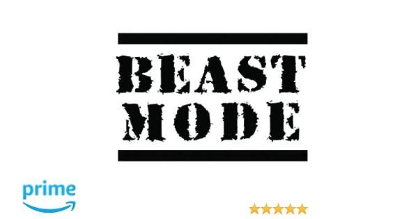 0e980d02b8b9b Amazon.com : Temporary Tattoo - Beast Mode - Crossfit Tattoo Set -  Semi-Permanent Tattoo - Set of 2, WOD Ready, Size - 3