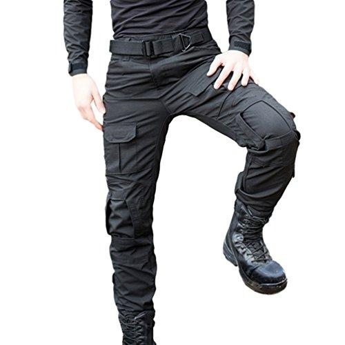 YuanDiann Homme Tactique Pantalon De Camouflage Militaire Multi-Poches Respirant Imperméable Armée Battle Trekking… 3