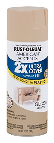 Rust-Oleum 284990 American Accents Ultra Cover 2x Gloss, Almond