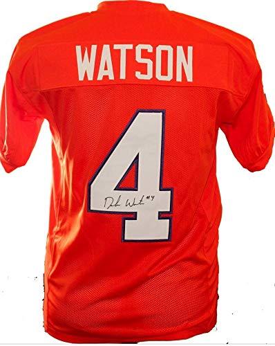 big sale c7085 621b7 Deshaun Watson Autographed Signed Clemson Tigers Custom ...