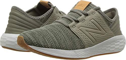 New Balance Boys' Cruz V2 Fresh Foam Running Shoe Military Foliage Green 5.5 W US Big Kid -