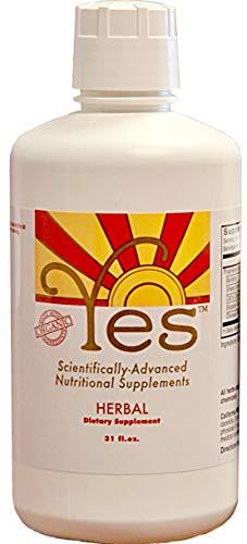 Vitamins Liquid Herbal - Essiac Organic Herbal Liquid 31oz | Burdock | Sheep Sorrel | Cats Claw | Slippery Elm | Rhubarb