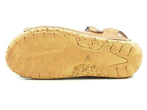 Gemini 032154-02 Women´s Fashion Sandals Braun cr9SL