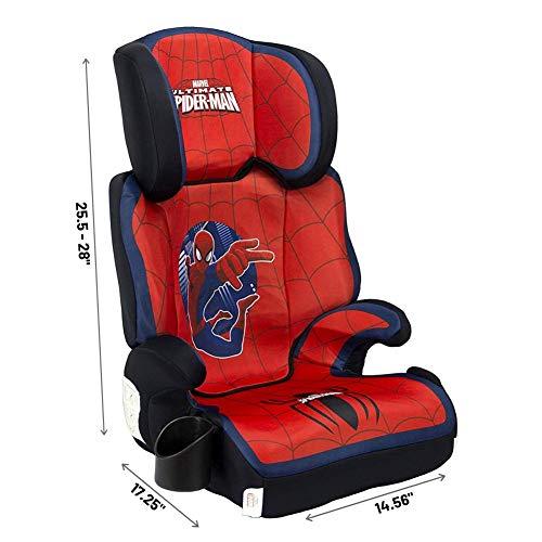 418bZ8ZjcyL - KidsEmbrace High-Back Booster Car Seat, Marvel Spider-Man