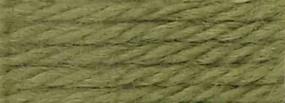 8.8-Yard DMC 486-7362 Tapestry and Embroidery Wool Light Moss Green