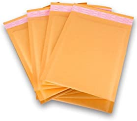 50 Small BUBBLE MAILERS PADDED ENVELOPES 4