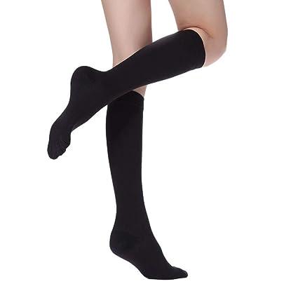 Dightyoho Calcetines de Compresión para Mujeres y Hombres Mejor para Deporte,Varices, Circulación Sanguínea