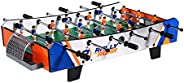 Rally and Roar Foosball Tabletop Games and Accessories, Mini Size - Fun, Portable, Foosball Soccer Tabletops S