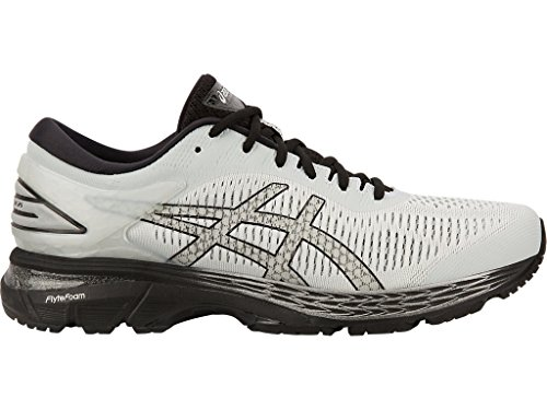 ASICS Gel-Kayano 25 Men's Running Shoe, Glacier Grey/Black, 11 D(M) US -