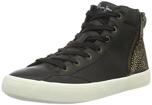 Pepe Jeans Clinton Break - Zapatillas de deporte Mujer Negro - Noir (999Black)