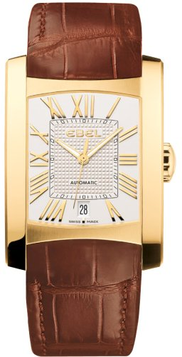 Ebel Brasilia Mens Yellow Gold Automatic Watch 8120M41/6235134 - 1215618