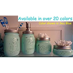 418bbWWAmPL._SS300_ 70+ Beach Bathroom Accessory Sets and Coastal Bathroom Accessories 2020