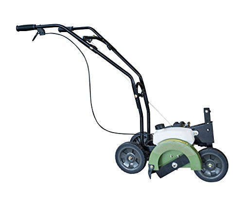Offex Lightweight Recoil Start Gas Powered Edger with Collapsible Handles