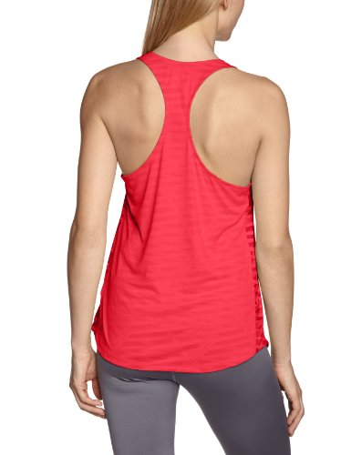 PUMA Tank Top TP Long - Camiseta de tirantes para mujer, color rosa, talla 42 (Talla fabricante: L)