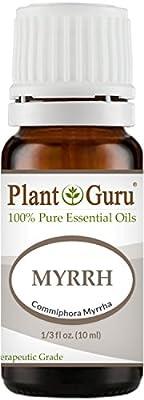 Myrrh Essential Oil 10 ml. 100% Pure Undiluted Therapeutic Grade. by Plant Guru