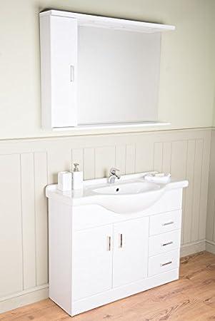 Waschbecken freistehend mit unterschrank  Badmöbel Badezimmermöbel Waschbecken Unterschrank Freistehend ...