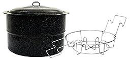 Granite Ware 0709-2 Jar Canner and Rack, 33-Quart