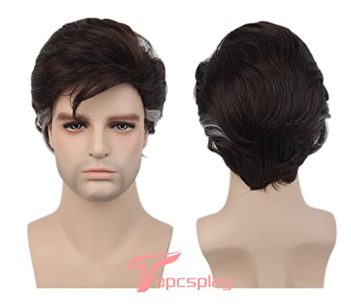 Coco Halloween Costumes (Topcosplay Halloween Costume Short Cosplay Wig Fancy Dress Wigs for Men)