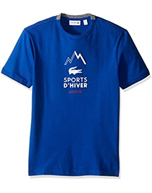 Men's Short Sleeve Winter Sport Graphic Tee