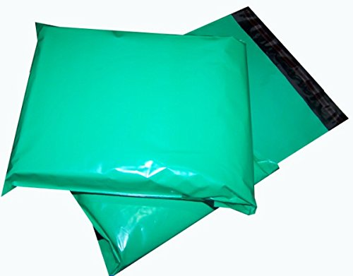 MADISHAN 7.5 x 10.5 Teal Green Poly Mailer Envelopes Shipping Bags with Self Adhesive Waterproof and Tear-Proof Postal Bags Total Pack of 100 Mailers
