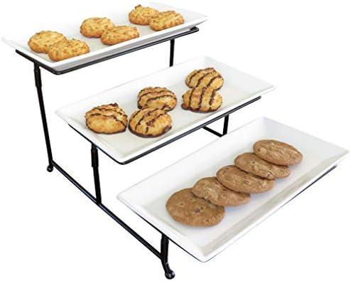 Evelots Rectangular Serving Platter Display product image