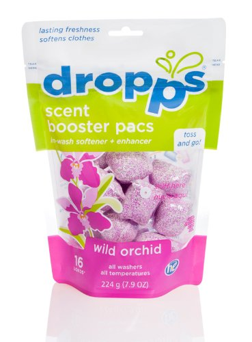 dropps-he-scent-laundry-booster-pacs-with-in-wash-softener-and-enhancer-wild-orchid-16-loads-pack-of