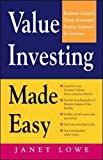 img - for Value Investing Made Easy: Benjamin Graham's Classic Investment Strategy Explained for Everyone book / textbook / text book