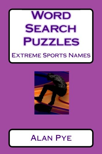 Word Search Puzzles Extreme Sports Names PDF