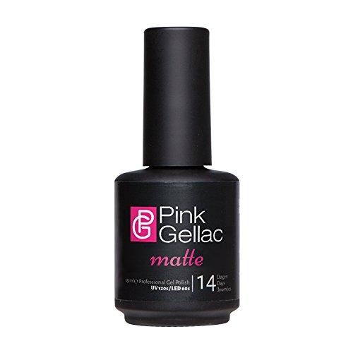 Pink Gellac MATTE Gel Top Coat UV / LED