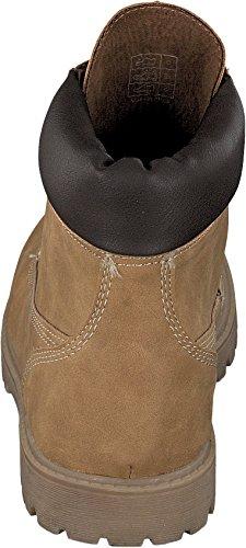 Jane Klain 252-132 Mujer Otoño Invierno Botas Botínes Botas de cordón beige Beige