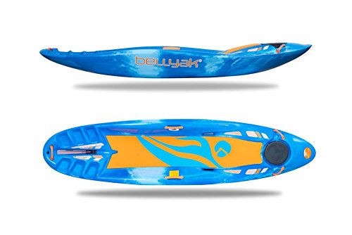 Bellyak Frequency Kayak, Blue Ice Marble