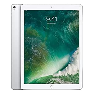 """Apple iPad Pro 12.9"""" (2017 - 2nd Gen), Wi-Fi + Cellular, 256GB, Silver [Without Facetime]"""