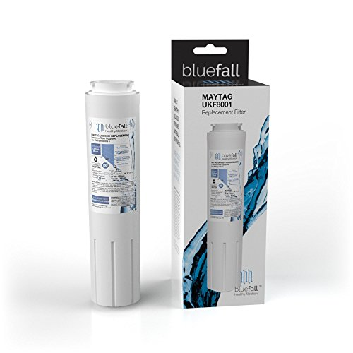 Price comparison product image Bluefall Water Filter,  Compatible with Maytag UKF8001,  Whirlpool,  Amana Pur,  Kitchenaid,  Bosch and Viking Models