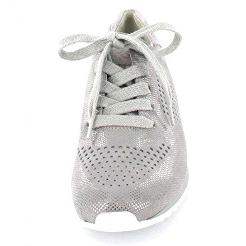 grau Paul Green Grau foiled Sneaker Damen quarz zzftBw