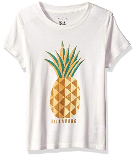 (Billabong Girls' Girls' Sunny Pineapple T-Shirt Cool Wip Small)