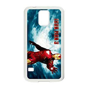 Custom Case Soft TPU Skin for Samsung Galaxy s5 i9600 Cover,The Avengers Galaxy s5 Cover - Black/White