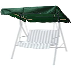 """Yescom 72-1/2""""x53-1/2"""" Outdoor Swing Canopy Replacement Porch Top Cover for Park Seat Patio Yard Furniture"""