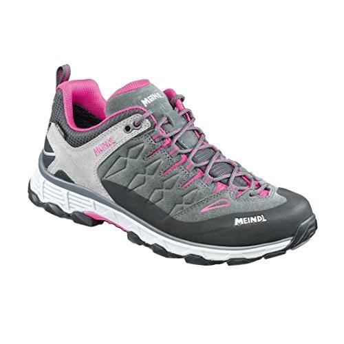 31 Pink amp; Lite Damen EU MEINDL Grau Trail 5 Trekking Anthrazit Wanderhalbschuhe Lady 36 Gtx fYvqPx