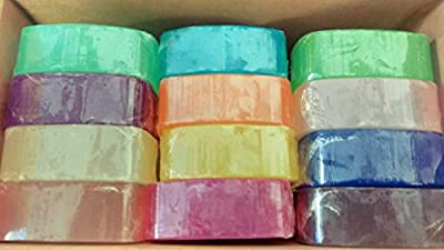 Crystal Glycerine Soap Bars 24 Fragrances by SFIC Corporation